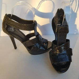 BCBGeneration Aster Snakeskin Sandals